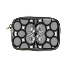 Mirror Of Black And White Fractal Texture Coin Purse