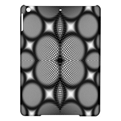 Mirror Of Black And White Fractal Texture Ipad Air Hardshell Cases