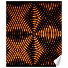 Fractal Pattern Of Fire Color Canvas 20  X 24