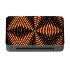 Fractal Pattern Of Fire Color Memory Card Reader With Cf