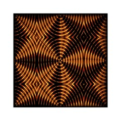Fractal Pattern Of Fire Color Acrylic Tangram Puzzle (6  x 6 )