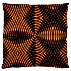 Fractal Pattern Of Fire Color Large Cushion Case (two Sides)