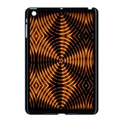 Fractal Pattern Of Fire Color Apple iPad Mini Case (Black)