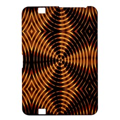 Fractal Pattern Of Fire Color Kindle Fire HD 8.9