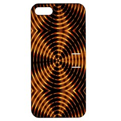 Fractal Pattern Of Fire Color Apple iPhone 5 Hardshell Case with Stand