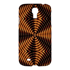 Fractal Pattern Of Fire Color Samsung Galaxy S4 I9500/i9505 Hardshell Case