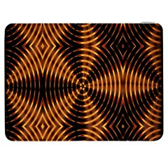 Fractal Pattern Of Fire Color Samsung Galaxy Tab 7  P1000 Flip Case