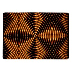 Fractal Pattern Of Fire Color Samsung Galaxy Tab 10.1  P7500 Flip Case