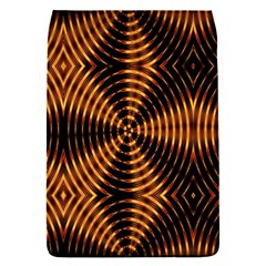 Fractal Pattern Of Fire Color Flap Covers (S)
