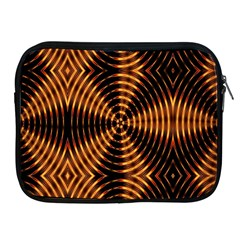 Fractal Pattern Of Fire Color Apple iPad 2/3/4 Zipper Cases