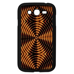 Fractal Pattern Of Fire Color Samsung Galaxy Grand Duos I9082 Case (black)