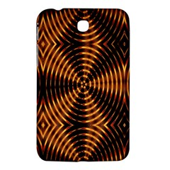 Fractal Pattern Of Fire Color Samsung Galaxy Tab 3 (7 ) P3200 Hardshell Case