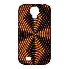 Fractal Pattern Of Fire Color Samsung Galaxy S4 Classic Hardshell Case (pc+silicone)