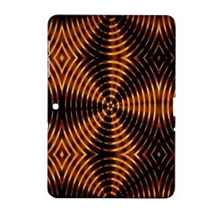 Fractal Pattern Of Fire Color Samsung Galaxy Tab 2 (10.1 ) P5100 Hardshell Case