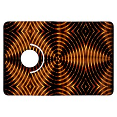 Fractal Pattern Of Fire Color Kindle Fire HDX Flip 360 Case