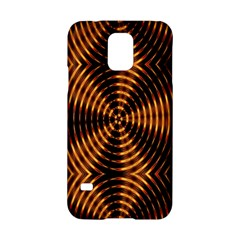 Fractal Pattern Of Fire Color Samsung Galaxy S5 Hardshell Case