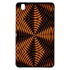 Fractal Pattern Of Fire Color Samsung Galaxy Tab Pro 8.4 Hardshell Case