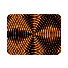Fractal Pattern Of Fire Color Double Sided Flano Blanket (mini)