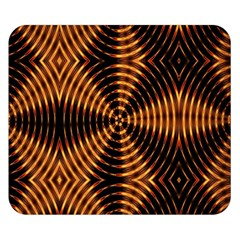 Fractal Pattern Of Fire Color Double Sided Flano Blanket (Small)