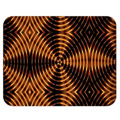 Fractal Pattern Of Fire Color Double Sided Flano Blanket (medium)