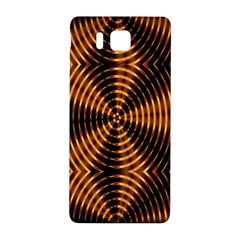 Fractal Pattern Of Fire Color Samsung Galaxy Alpha Hardshell Back Case