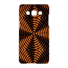 Fractal Pattern Of Fire Color Samsung Galaxy A5 Hardshell Case