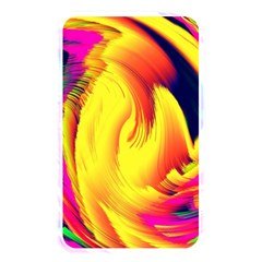Stormy Yellow Wave Abstract Paintwork Memory Card Reader