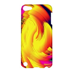 Stormy Yellow Wave Abstract Paintwork Apple iPod Touch 5 Hardshell Case