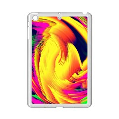 Stormy Yellow Wave Abstract Paintwork Ipad Mini 2 Enamel Coated Cases