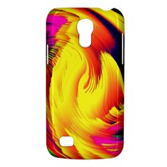 Stormy Yellow Wave Abstract Paintwork Galaxy S4 Mini