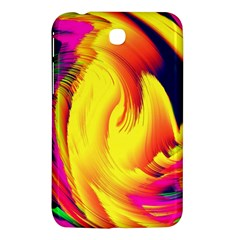 Stormy Yellow Wave Abstract Paintwork Samsung Galaxy Tab 3 (7 ) P3200 Hardshell Case