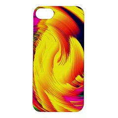 Stormy Yellow Wave Abstract Paintwork Apple iPhone 5S/ SE Hardshell Case
