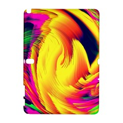 Stormy Yellow Wave Abstract Paintwork Galaxy Note 1