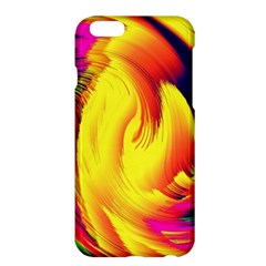 Stormy Yellow Wave Abstract Paintwork Apple iPhone 6 Plus/6S Plus Hardshell Case