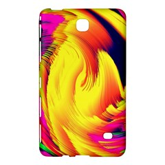 Stormy Yellow Wave Abstract Paintwork Samsung Galaxy Tab 4 (8 ) Hardshell Case