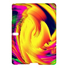 Stormy Yellow Wave Abstract Paintwork Samsung Galaxy Tab S (10.5 ) Hardshell Case