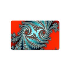 Digital Fractal Pattern Magnet (Name Card)