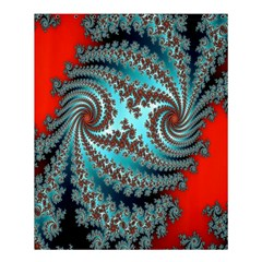 Digital Fractal Pattern Shower Curtain 60  X 72  (medium)
