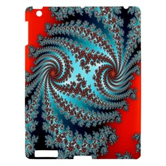 Digital Fractal Pattern Apple Ipad 3/4 Hardshell Case