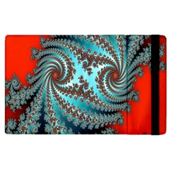 Digital Fractal Pattern Apple iPad 3/4 Flip Case