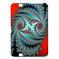 Digital Fractal Pattern Kindle Fire HD 8.9