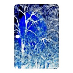 Winter Blue Moon Fractal Forest Background Samsung Galaxy Tab Pro 12.2 Hardshell Case