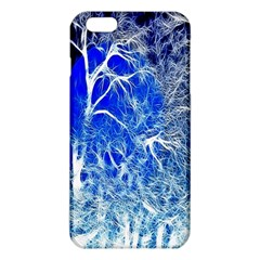 Winter Blue Moon Fractal Forest Background iPhone 6 Plus/6S Plus TPU Case