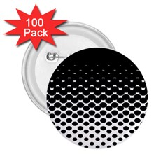 Halftone Gradient Pattern 2 25  Buttons (100 Pack)