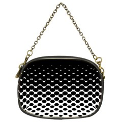 Halftone Gradient Pattern Chain Purses (two Sides)