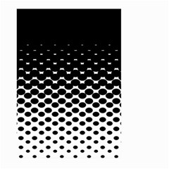 Halftone Gradient Pattern Large Garden Flag (Two Sides)