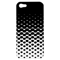 Halftone Gradient Pattern Apple iPhone 5 Hardshell Case