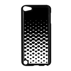 Halftone Gradient Pattern Apple iPod Touch 5 Case (Black)
