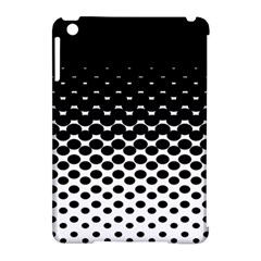 Halftone Gradient Pattern Apple iPad Mini Hardshell Case (Compatible with Smart Cover)