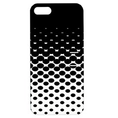 Halftone Gradient Pattern Apple iPhone 5 Hardshell Case with Stand